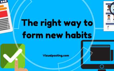 The right way to form new habits