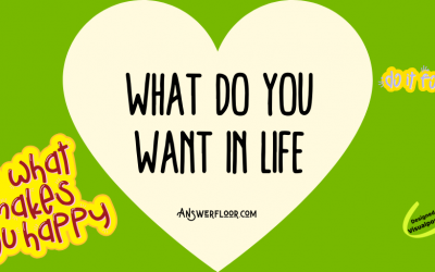 What do you want in Life: 15 ways to find out