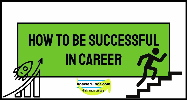 Successful in career