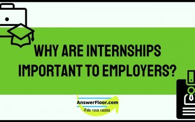 Why are Internships important to Employers?