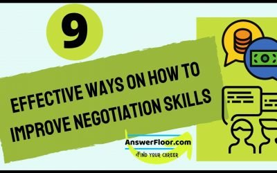 9 Effective Ways on How to Improve Negotiation Skills