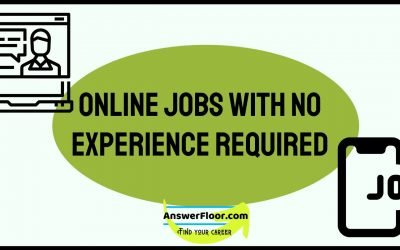 11 Online Jobs With no Experience Required